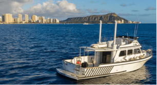 private boat cruise Oahu